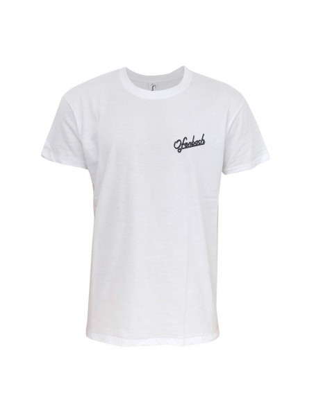 T-shirt blanc homme logo groupe Ofenbach